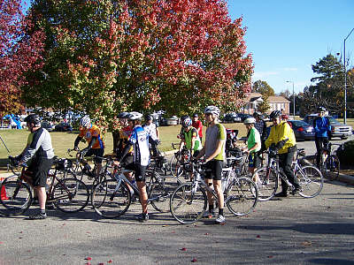 anson county chamber event and bike ride in wadesboro