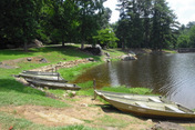 Boat rentals and fishing at City Pond Wadesboro NC